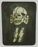 Rare! Metal Totenkopf SS Barracks/Building Sign