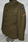 WW1 US 40th Infantry Division Enlisted Combat Medic Tunic