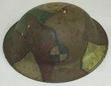WW1 British MKI US Doughboy Helmet-4th Corps (HG-23)