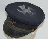 Span-Am War/USV US Infantry Officer's Visor Cap (HG-61)