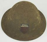 WW1 M1917/P17 US Soldier Helmet-78th Division (HG-23)
