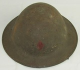 WW1 British MKI US Soldier Helmet-5th Infantry Division (HG-23)