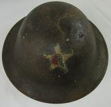 WW1  M1917/P17 U.S. Soldier Doughboy Helmet-2nd Div./23rd Inf. Rgt./3rd Bn. (HG-23)