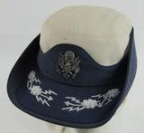 Very Early USAF Female Senior Officer's Service Cap-Named (HG-34)