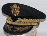 Rare Vietnam Period Named Major General Visor Cap-Rhode Island National Guard (HG-38)