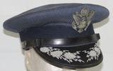 Early USAF Named General Officer's Visor Cap-B/G A. A. Hoffman (HG-37)