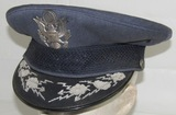 Early USAF Named General Officer's Visor Cap-Brig. Gen. Martin Scanlon (HG-43)