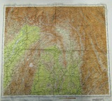 2 pcs. WW2 USAAF Cloth Map with Blood Chit-CBI Theater (RM)