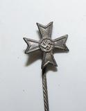 Scarce WW2 German War Merit Cross 1st Class w/o Swords Stick Pin