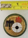 1941/42 WHW Opferschiessen Shooting Contest Award Badge In Gold