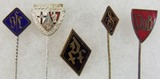 5pcs-Misc WW2 German Stickpins/Pin