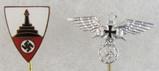 2pcs-WW2 German Veteran Soldier Stickpins