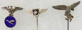 3pcs-WW2 German Aviation Related Stickpins