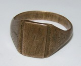 Waffen SS Soldier's Field Made Ring-1941