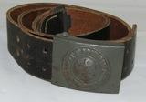 Late War Wehrmacht Combat Belt With Buckle-B&N 43