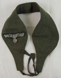 Unusual Field Made Wool Ear Muffs For Officer?