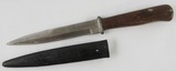 German Soldier Fighting Knife With Scabbard