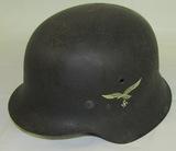 Excellent! M42 Single Decal Luftwaffe Helmet-ET66