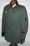 Scarce Later War Nazi Cavalry Waffenrock Converted For Volkssturm Use