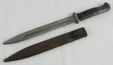 K-98 Bayonet With Scabbard-Eickhorn-1939-Non Matching