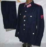 WW2 German Feuerpolizei Tunic With Pants-Meister Rank