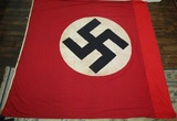 Large NSDAP Double Sided Building Banner