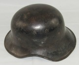 Scarce M44 Luftschutz Gladiator Helmet With late War Liner