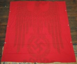 Unusual WW2 German Great Hall/Parade Banner-Double Sided (F16)