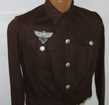 Pre WW2 German NSFK Brown Shirt