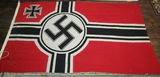 WWII Kreigs Flag With Eagle Over M Navy Stamp (F24)