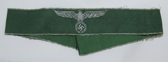 WW2 German Customs Officer Cuff Title