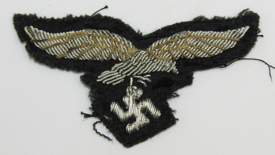Luftwaffe Officer's  Bullion Cap Insignia