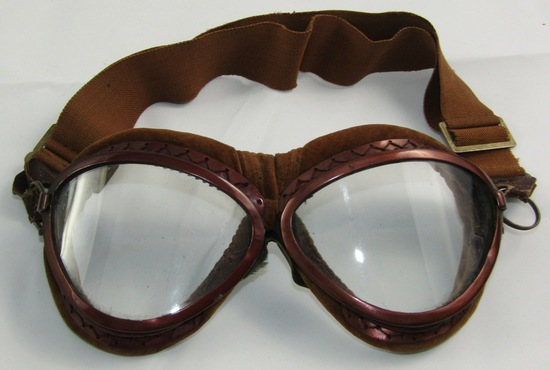 Scarce WW2 Japanese Fighter Pilot Goggles-In Excellent Condition.