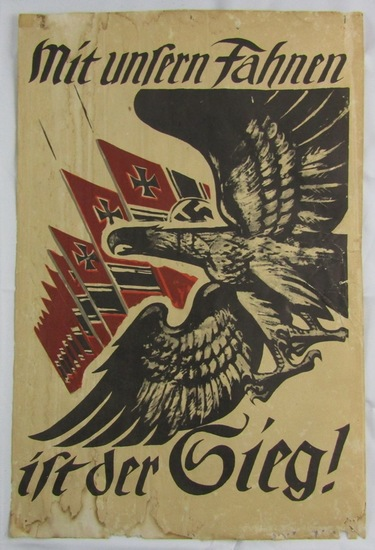 WW2 German Propaganda Poster