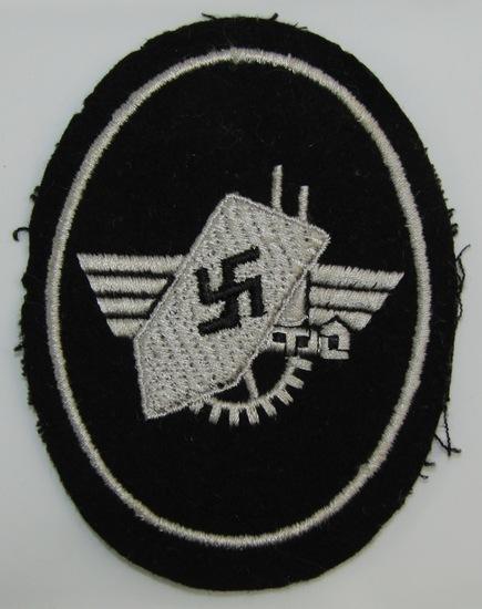 WW2 German Factory Guard Sleeve Patch