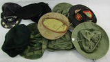 10pcs-U.S. Vietnam War Period Boonie Hats-Berets-Field Cap For Base Commander