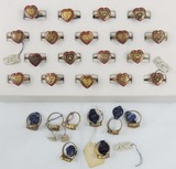 26pcs-WW2 USMC Sweetheart Rings