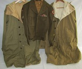 3pcs-WW2 U.S. Mountain Troops Smocks (2)-Mountain Troops Ike jacket