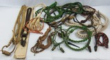 Misc. Lot U.S. Military Campaign Hat Cords-Lanyards Etc.