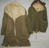 2pcs-WW2 US Mountain Troops 1st & 2nd Pattern Reversible Ski Smocks