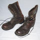 WW2 U.S. Airborne Paratrooper Jump Boots-Corcoran. Size 9-1/2D