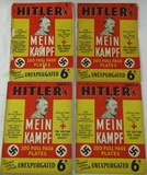 Rare Complete Set (18 parts) Hitler's Mein Kampf Weekly Unexpurgated