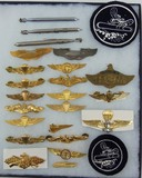 25pcs-Misc. USN/USMC Paratrooper Wings/Mosquito Boat Patches Etc.