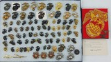 94pcs-USMC Eagle Globe & Anchor Insignia-Several Eras-Most Are Screw Back