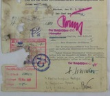 Early NSDAP/SA/SS Promotion Letter Signed By Rohm & Himmler!