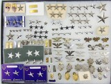 90pcs-Misc U.S. Rank Insignia-WW2 Through Vietnam To Current-Lt. Through General