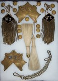 Indian Wars/Span-Am War Uniform/Kepi Insignia.