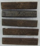 5pcs-OSS Detachment 101 Burma Campaign Bars
