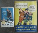2pcs-WW1/WW2 U.S. Posters
