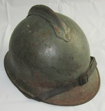 WW1 Italian Army M1915 Helmet With Liner And Chin Strap